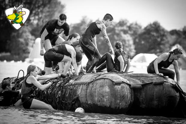 Strong Viking Run obstakel